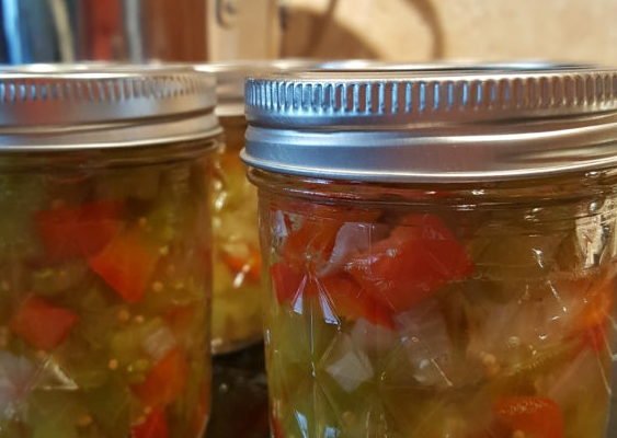 Canning 101: Green Tomato Relish